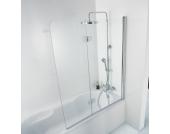 HSK Badewannenaufsatz Premium Softcube, 2-teilig