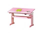 Mädchen Schreibtisch in Rosa Höhenverstellbar