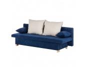 Schlafsofa Homely I - Microfaser - Marineblau, mooved