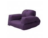 Schlafsessel Hippo - Futon Lila, Karup