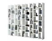 Bücherregal Emporior III - Hochglanz Weiß, loftscape