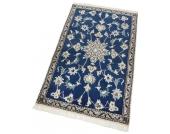 Parwis Orient-Teppich »Nain Khorasan3«, blau, 100x150 cm