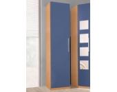 Schlafwelt Kleiderschrank »Saragossa« »Saragossa«, blau, Türanschlag links