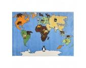 Kinderteppich Mamba - Blau - 70 cm x 140 cm, Theko die markenteppiche