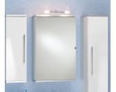 Spiegelschrank in Weiß mit Schalter