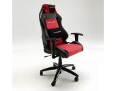 Drehstuhl im Racing-Look Schwarz-Rot