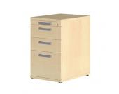 Bürocontainer in Ahornfarben Abschließbar