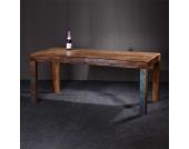 Massivholztisch aus Recyclingholz Shabby Chic