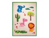 Kinderteppich Zoo - Beige - Maße: 90 x 160 cm, Esprit Home