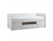 Kojenbett II Lifetime Original - Kiefer massiv - Whitewash - Mit Deluxe Lattenrost, Lifetime Kidsrooms