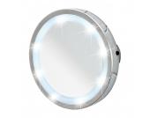LED Leuchtspiegel Mosso (3-fach Vergrößerung) - Chrom, Wenko