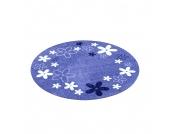 Kinderteppich Flower Field rund - Blau, Zala Living