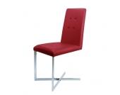 Schwingstuhl in Rot modern
