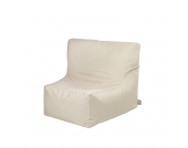 Sitzsack Lounge Sessel in Beige Outdoor
