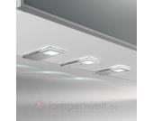 Praktische LED-Unterbauleuchte Flat I, 3er-Set