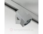 Decken- oder Wandstrahler STYLE Q mit Adapter alu