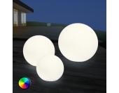 Schöne LED-Außendekorationsleuchte Shining Globe