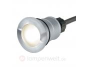 LED-Bodeneinbauleuchte TRAIL-LITE ROUND warmweiß