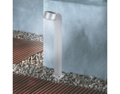 Moderne Solarleuchte Swing silber