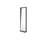 Stehender Spiegel aus Metall 50 cm breit