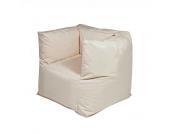 Sitzsack Lounge Sessel in Beige für Draußen