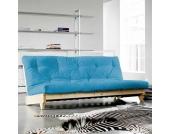 Klappsofa in Blau 200 cm breit