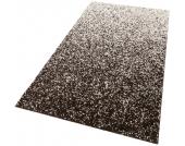 Home affair Hochflor-Teppich »Valeria«, braun, 60x90 cm