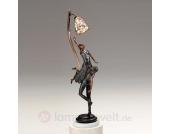 Stehleuchte GISELLE als Bronzestatue