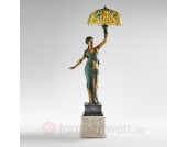 Stehleuchte SELMA als dekorative Statue