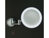 Wandkosmetikspiegel SPARCLE mit LED-Beleuchtung