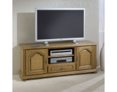 TV Lowboard in Eichefarben