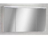 Lanzet Spiegelschrank 120 Weiß L4 3T