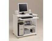 Computertisch mit Tastaturauszug