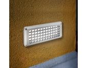 Stabile LED-Einbauleuchte STURDY mit Schutzgitter