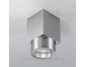 Zeitgemäßer Aluminium-Deckenstrahler FLEUR IP54