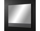 Wandspiegel in Anthrazit-Grau ohne Rahmen
