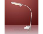 Graue LED-Klemmleuchte ROGU