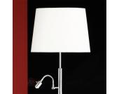 Lavo Stehleuchte mit LED-Leselicht