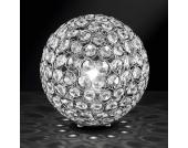 Kugelleuchte mit Kristallen